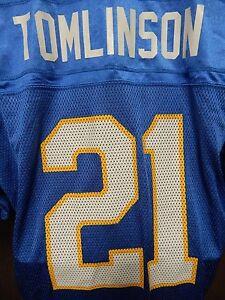 10f1329c LaDainian Tomlinson San Diego Charger Reebok Football Jersey Size X ...