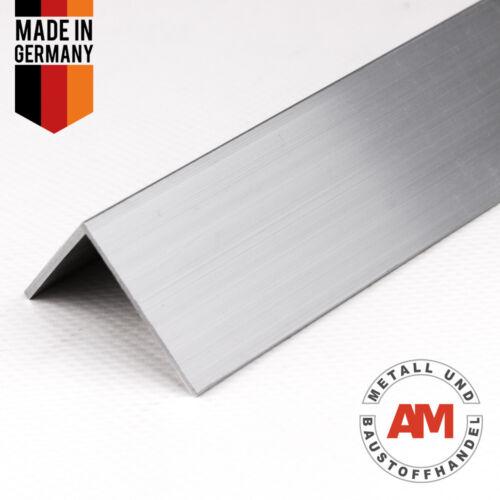 Aluminium Winkel von 100 bis 2000 mm Aluminium L-Profil Aluprofil Aluwinkel  W