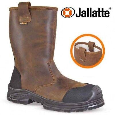 979652a3e48 NEW MENS JALLATTE RIGGER SAFETY BOOT STEEL TOE CAP WATERPROOF WORK S3 SHOE  SIZE   eBay