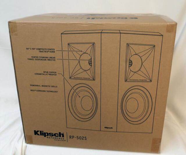 Klipsch Reference Premiere RP-502S Surround speakers- pair (Black)