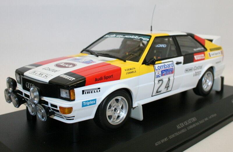 Minihamps 1   18 moldeado 155 821124 Audi quattro Lombard rally 1982 35 ss 24