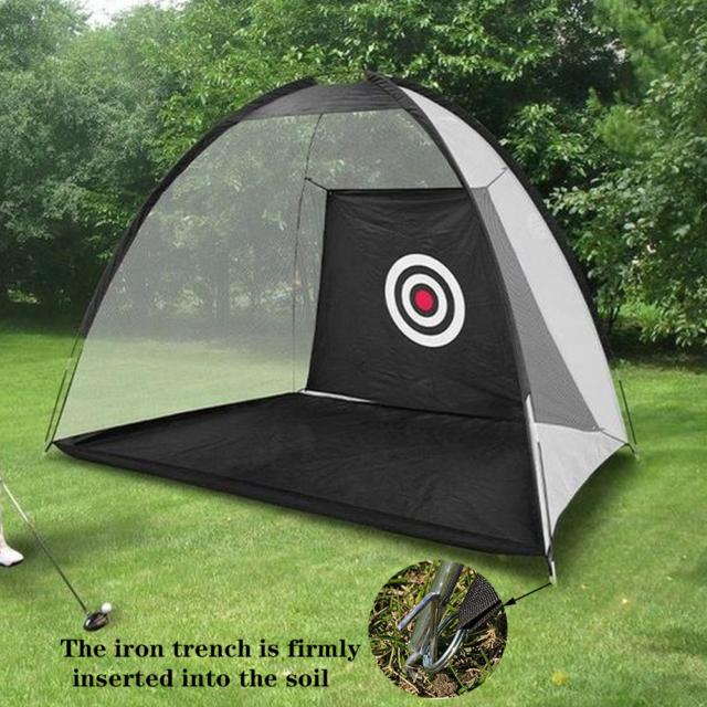 Golf Hitting Nets Golf Net with Target Backyard Driving ...