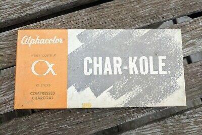 Alphacolor Char-Kole 12//Box