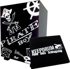 Baff Pirat Kinder-Trommel-Hocker Cajon Pirat + KEEPDRUM Sitzpad