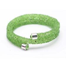 Swarovski Crystaldust Bracelet - Green Crystals for sale online | eBay