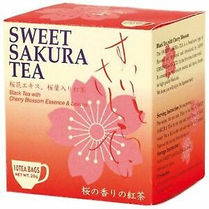 Sweet Sakura Tea 2g 10p Tea Boutique Cherry Blossoms Black Tea