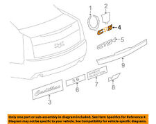 Cadillac GM OEM 17-18 XTS Trunk Lid-Emblem Badge Nameplate 23394040