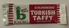 Strawberry Bonomo Taffy Candy Bar 24 Count Box