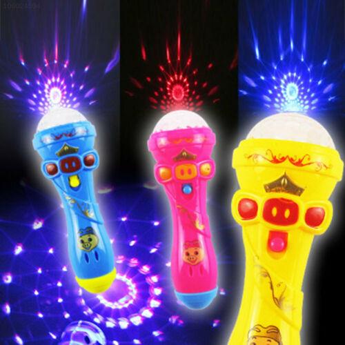 CB32 Mikrofon Projektor Abs Gesang Bildung Für Beamer Musik Leuchtend Spielzeug