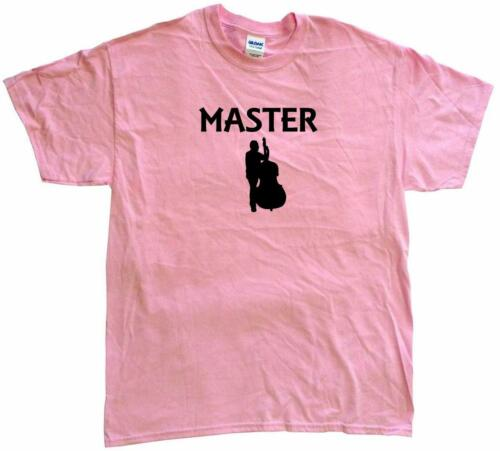 Upright Bass Player Master Mens Tee Shirt Pick Size /& Color Small 6XL