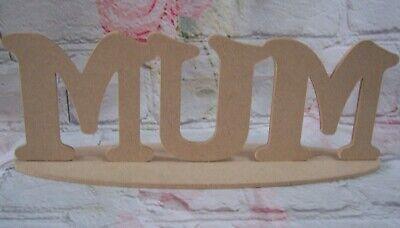 MDF Fairy Craft Blank plaque Freestanding