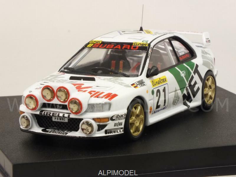varios tamaños Subaru Impreza WRC Rally Monte Cochelo 1998 Kremer - Wicha Wicha Wicha 1 43 TROFEU 1106  entrega rápida