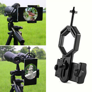 handy kamera adapter teleskop spektiv mikroskop halterung ebay. Black Bedroom Furniture Sets. Home Design Ideas