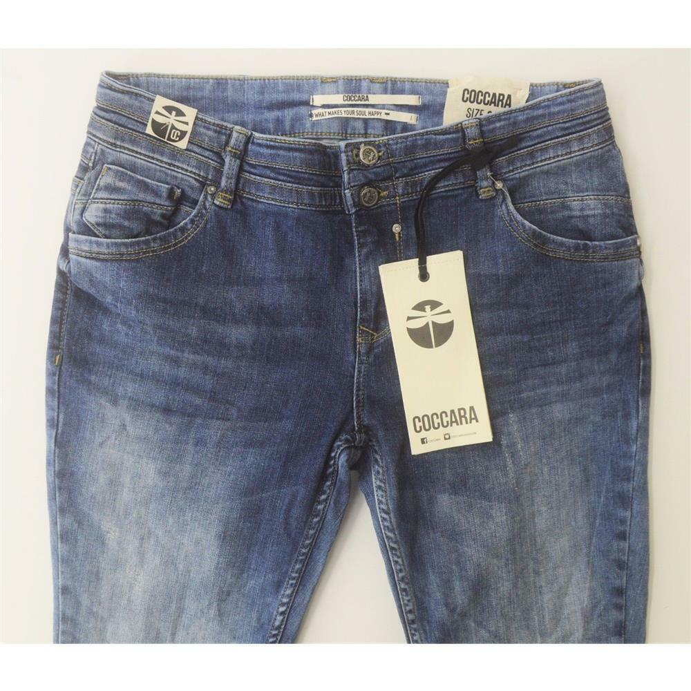 Coccara Bella, Tendance Jeans Dans Cooler une aBlaution, stretch, tube, Größe au choix