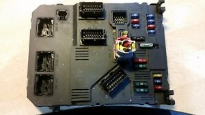 Details about CITROEN PEUGEOT BCU BCM BODY CONTROL MODULE FUSE BOX  9649627880 GENUINE (3788)