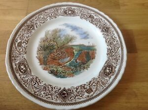 Mason-039-s-Game-Birds-The-Quail-1-Dinner-Plate-27cm-1st-Quality