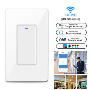 Smart-WIFI-Light-Switch-Remote-For-Alexa-Google-Home-IFTTT-Voice-Control-Life-US