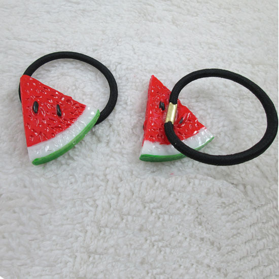 1 pcs New Women Girls Watermelon Hairpin Hair Clip Ponytail Hair Jewelry Gift