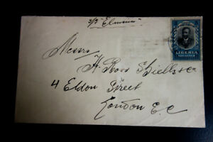 Liberia-Stamps-1922-Cover-back-stamped-Clean-Cover-XF