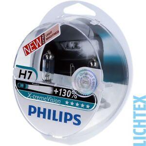 H7-PHILIPS-X-tremeVision-130-Scheinwerfer-Lampe-DUO-Box-NEU
