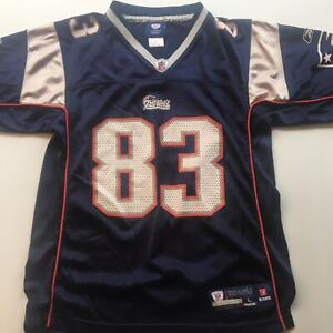 5657ad9c Details about New England Patriots Jersey Wes Welker #83 NFL Reebok Onfield  Football Youth