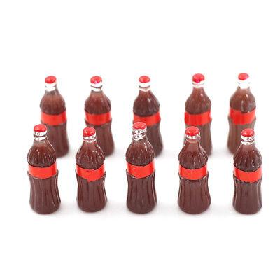 10pcs Dollhouse Miniature Mini Coke Modello Giocattoli Bambola Bevanda Cucina Giocattolo Sg-mostra Il Titolo Originale