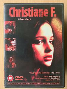 Christiane-F-DVD-1981-Allemand-Ado-Junkie-Drogue-Addiction-Classique-W-David