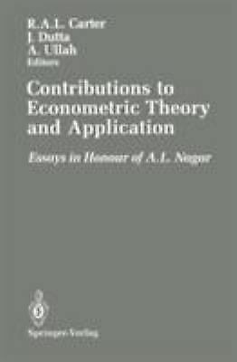 Contributions to Econometric Theory and Application : A Volume in Honour of A. L