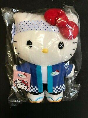 "Hello Kitty Sushi Chef AFC 30th Anniversary 10/"" Plush Doll"