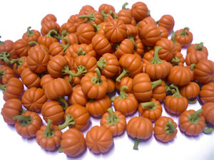 image is loading 10 loose pumpkins dollhouse miniatures fruit vegetable supply