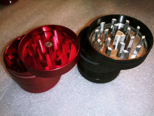 """Details about  /3 .5/""""  TOBACCO Elephant Hand Pipe w//Water Bubbler 5.5/"""" Grinder Aluminium 4pc"""