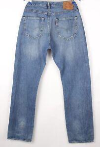Levi's Strauss & Co Herren 501 Gerades Bein Jeans Größe W36 L34 BCZ74