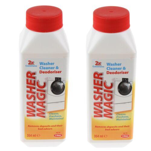 Pack de 2 Rondelle Magique Machine à laver deodoriser /& la moisissure détartrant