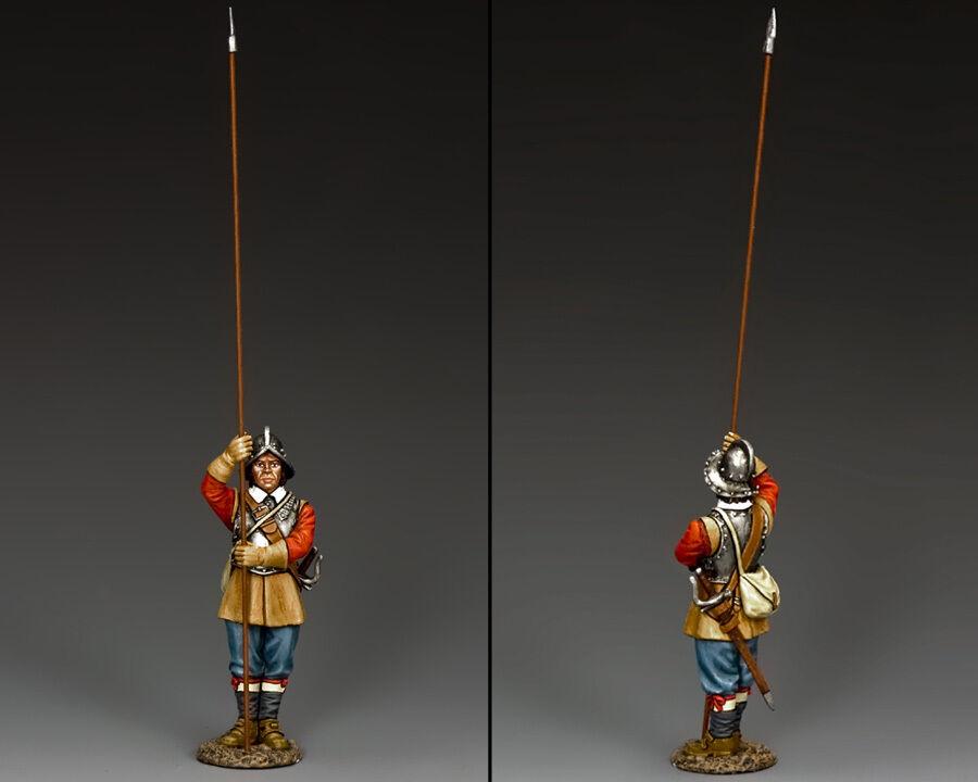 KING AND COUNTRY English Civil War Standing Pikeman PnM006