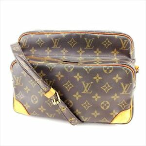 Louis-Vuitton-Shoulder-bag-Monogram-Brown-Woman-Authentic-Used-M743