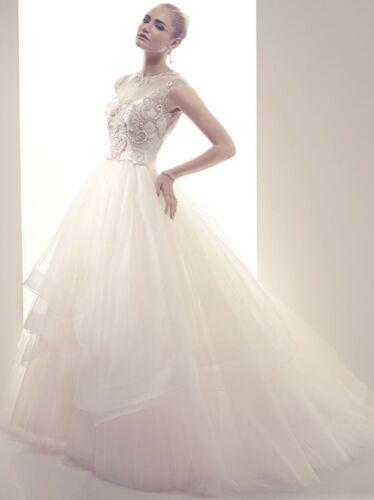 Casablanca Couture Wedding Bridal Gown B075 Sz 12 - image 1