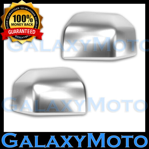 1 Pair Left+Right 2016 2017 15-17 Ford F150 Truck Ingot Silver Mirror Cover