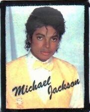 MICHAEL JACKSON  yellow vest  SEW ON  PHOTO  PATCH