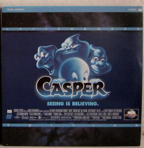 Laserdisc CASPER Bill Pullman Christina Ricci - produced by Steven Spielberg - Deutschland - Laserdisc CASPER Bill Pullman Christina Ricci - produced by Steven Spielberg - Deutschland