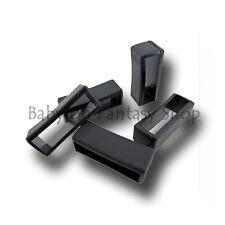 PVC Watch Strap Retaining Hoop/Loop - 5 Sizes - Rubber Retainer Buckle - Holder