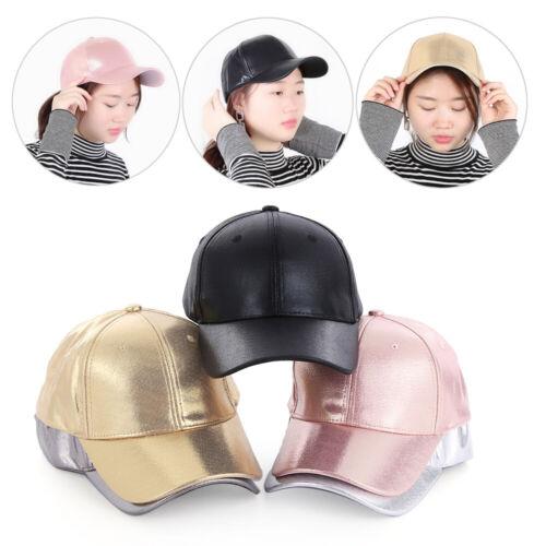 Adjustable Fashion Girls Ponytail Baseball Cap Visor Sun Hat Snapback Sport Hat