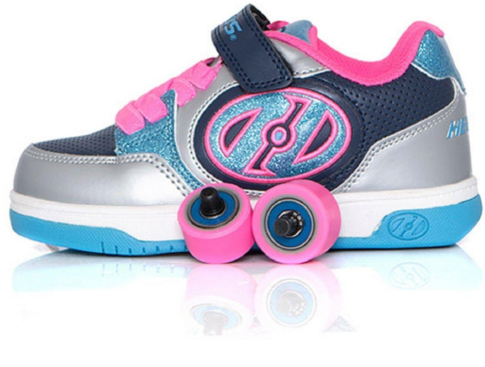 Roller Shoes Christmas Boys Girls Wheels Heelys Skates LED Trainers UK Kids Gift