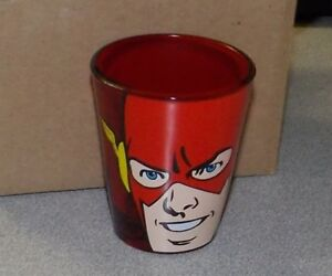 The Flash Shot Glass Brand New Flash Face