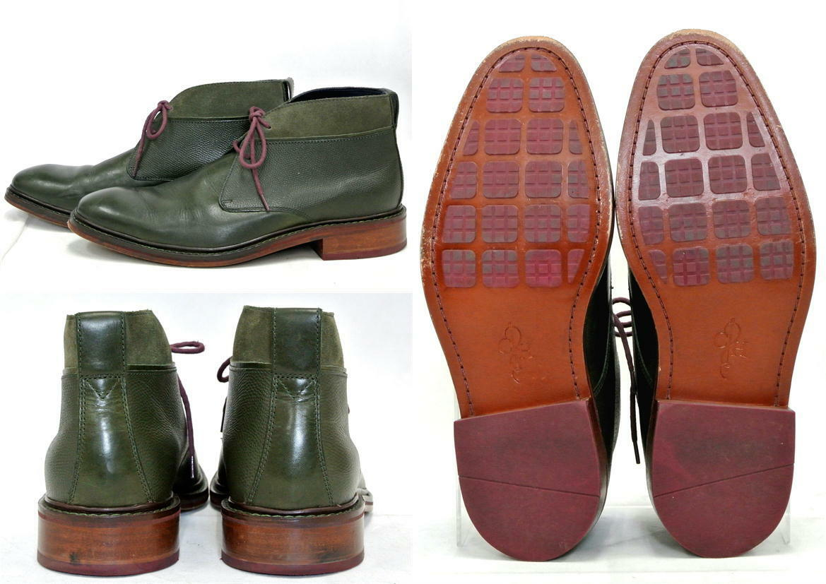 New without Box Cole Air Haan Air Cole Colton Winter Chukka C11775 7.5M Fatigue Green d46620