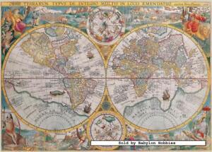 1500 pcs jigsaw puzzle world map 1594 maps ravensburger 163816 image is loading 1500 pcs jigsaw puzzle world map 1594 maps gumiabroncs Gallery