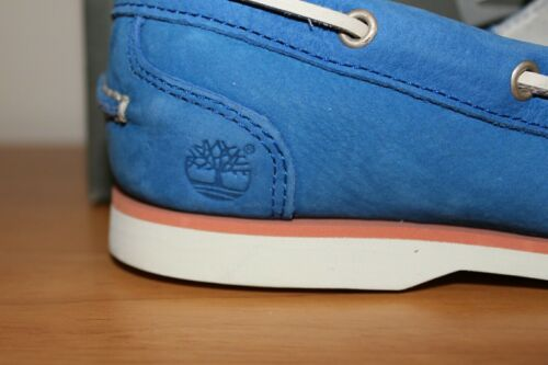 Zapato para barco mujer de Classic Timberland azul 8859r RW65xCqwxv