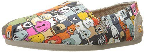 BOBS from Skechers femmes Plush-Wag Party Flat- Pick SZ Couleur.