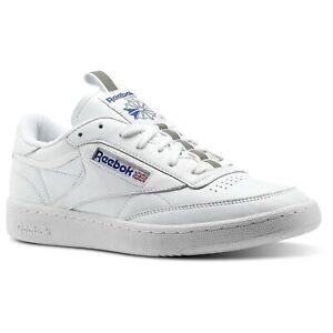 Detalles acerca de REEBOK CLASSIC CLUB 85 Rt Entrenadores Blanco Zapatillas C Zapatos Retro Tenis Hombre Nuevo mostrar título original