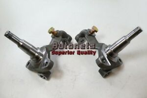 Details about GM A F X Body Chevelle Nova Camaro Stock Height Disc Brake  Spindles