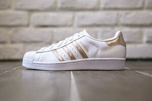 Image is loading Womens-Adidas-Superstar-Rose-Gold-Copper-White-Black-